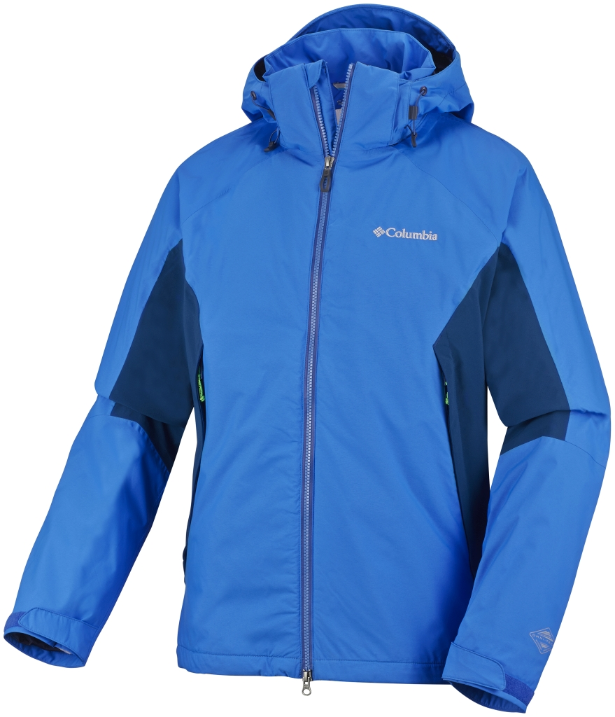 Columbia Men's On the Mount Stretch Jacket Hyper Blue Marine Blue-30
