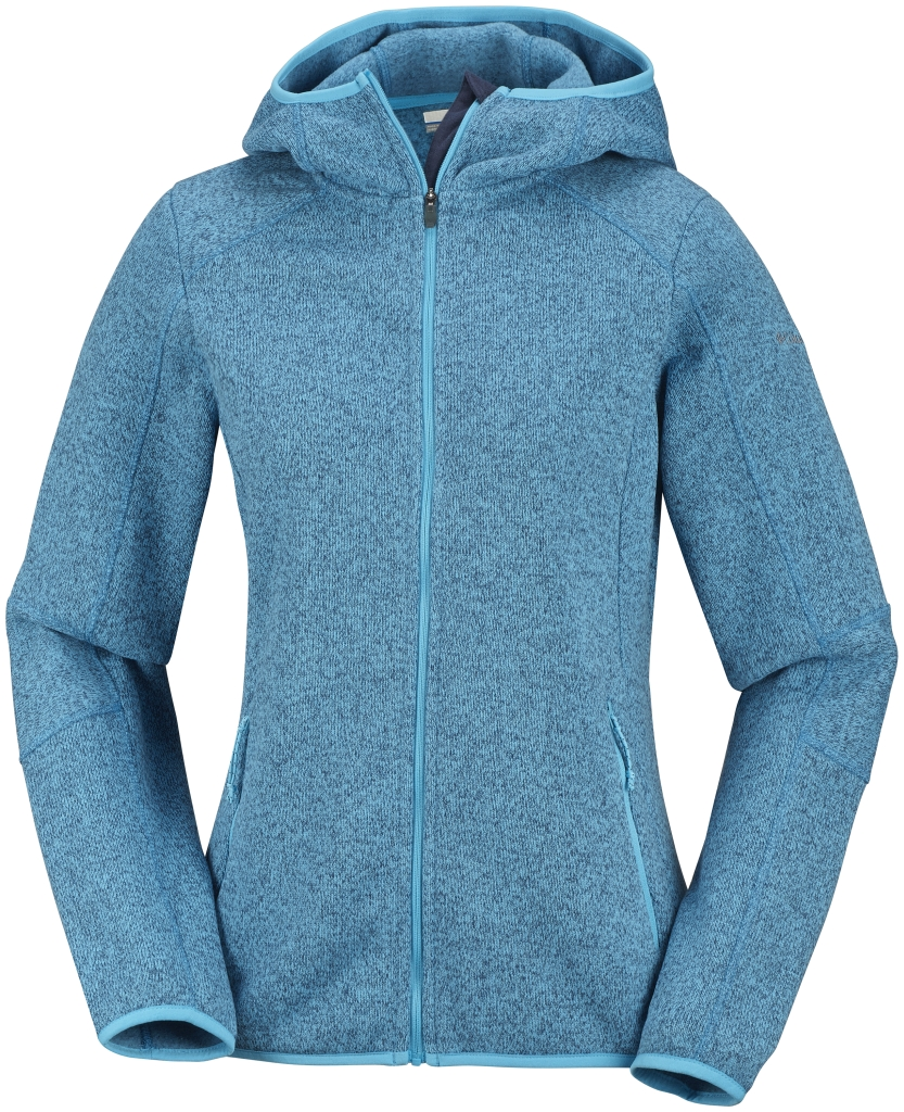 Columbia Women's Altitude Aspect Hooded Fleece Jacket Full Zip Atoll-30