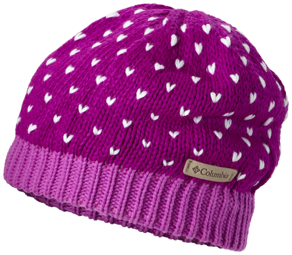 Columbia - Youth Powder Princess Hat Bright Plum - Foxglove - Hats & Caps -
