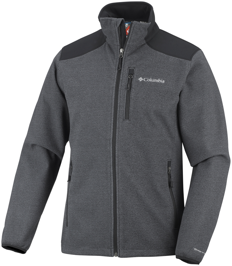 Columbia Men's Wind Protector Novelty Jacket Black-30