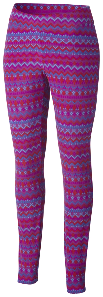 Columbia Women's Glacial Legging Plum Fairisle-30