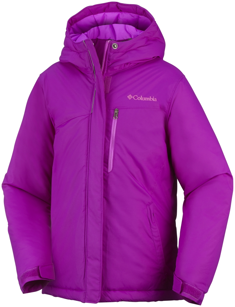 Columbia Girls' Alpine Free Fall Jacket Bright Plum-30