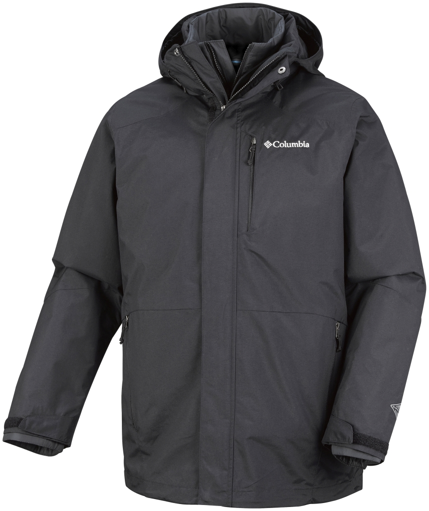 Columbia Men's Element Blocker Interchange Jacket Black-30