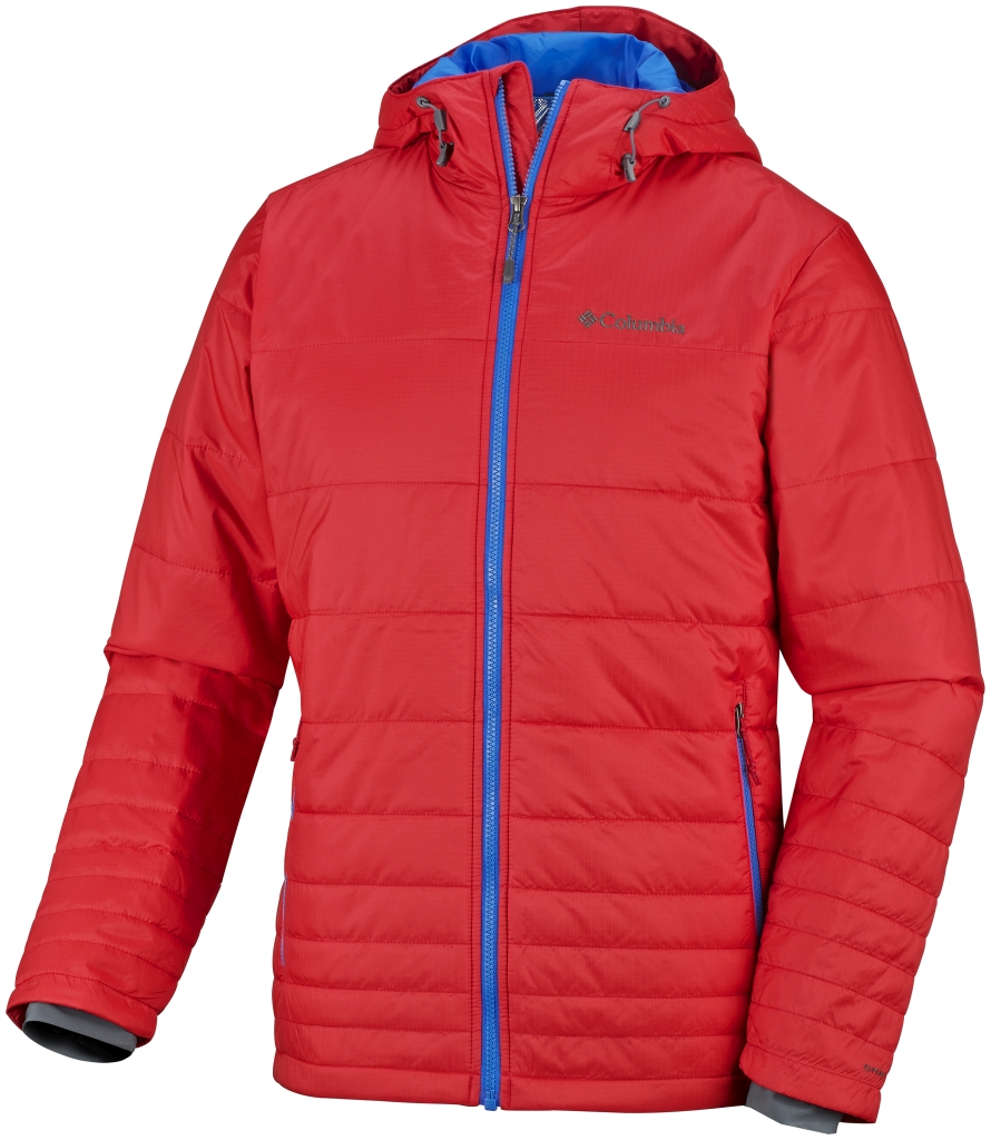 Columbia Men's Go To Hooded Jacket Bright Red-30