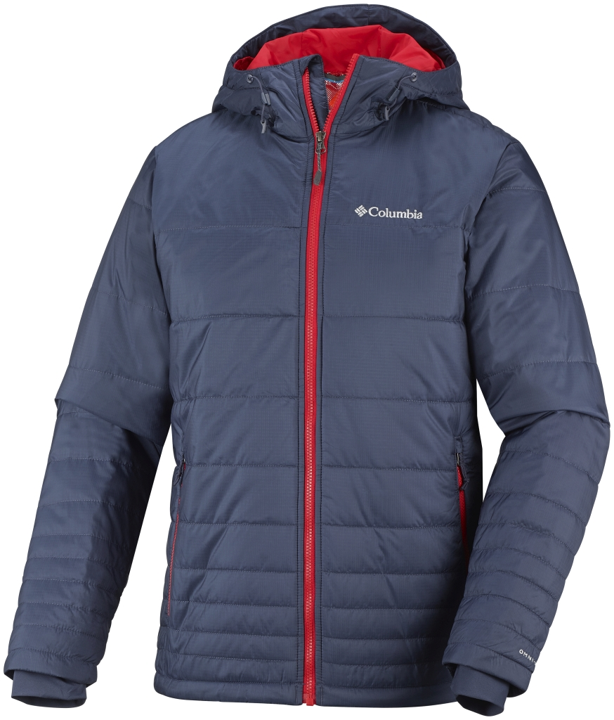 Columbia Men´s Go To Hooded Jacket Nocturnal-30