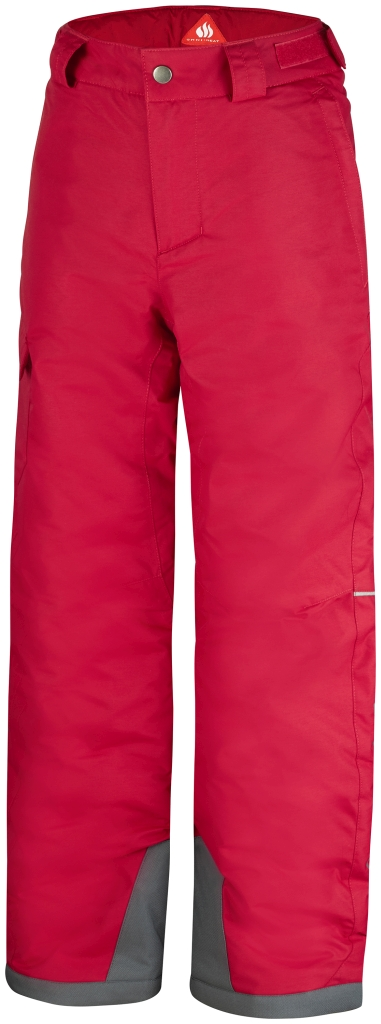 Columbia Boys' Bugaboo Pant Bright Red Graphite-30