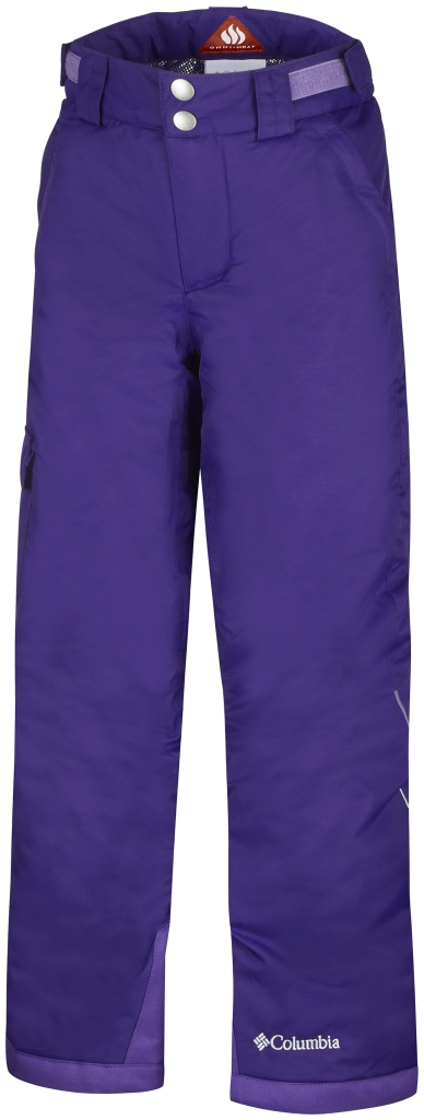 Columbia Girls' Bugaboo Pant Hyper Purple-30