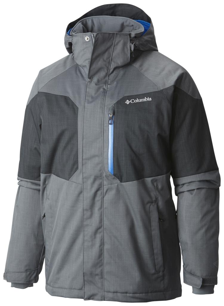 Columbia Men's Alpine Action Jacket Graphite Black-30