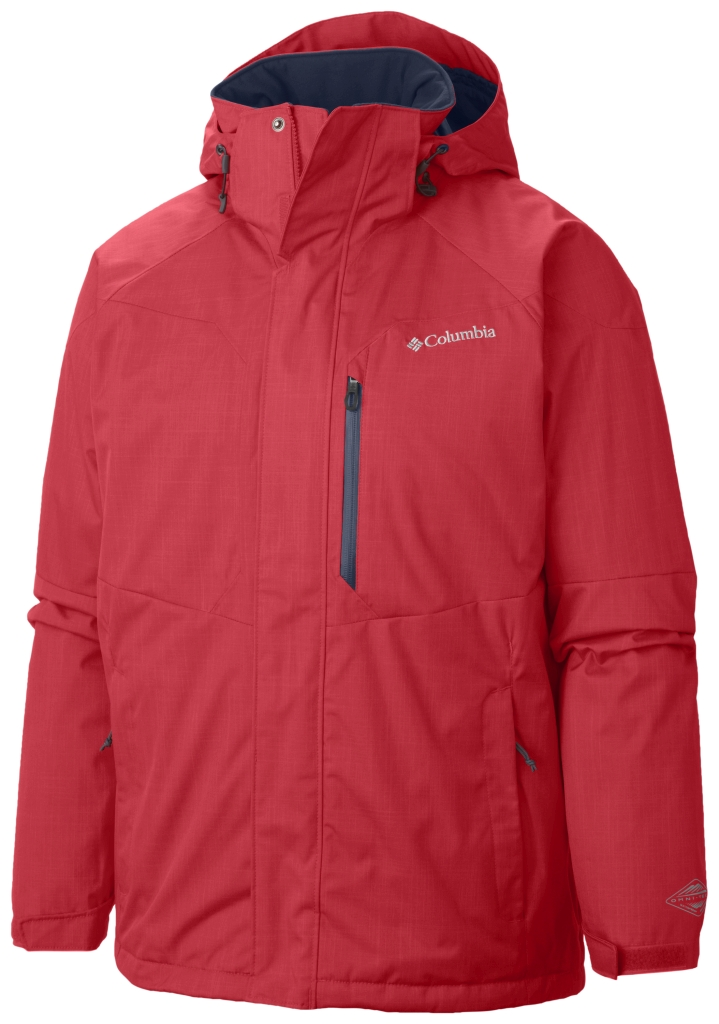 Columbia Men's Alpine Action Jacket Bright Red-30