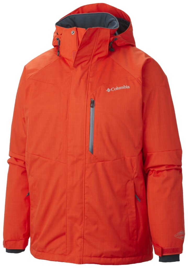 Columbia Men's Alpine Action Jacket Spicy-30