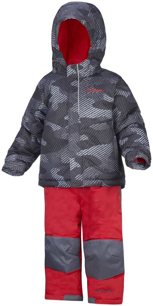 Columbia Youth Buga Set – Toddler Black Camo-30