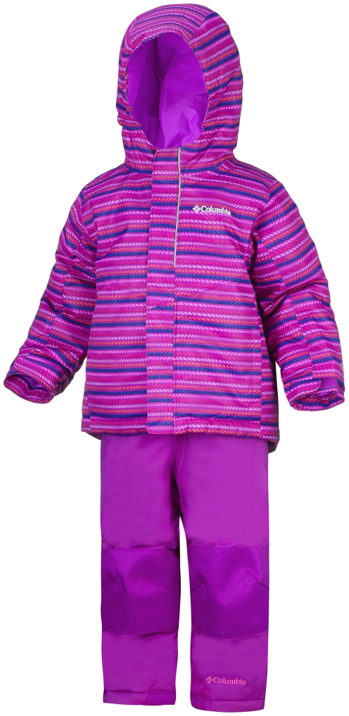 Columbia Youth Buga Set – Toddler Bright Plum Stripe-30