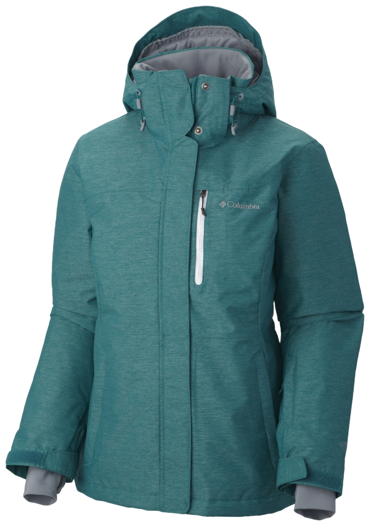 Columbia Alpine Action Oh Jacke Für Damen Emerald-30