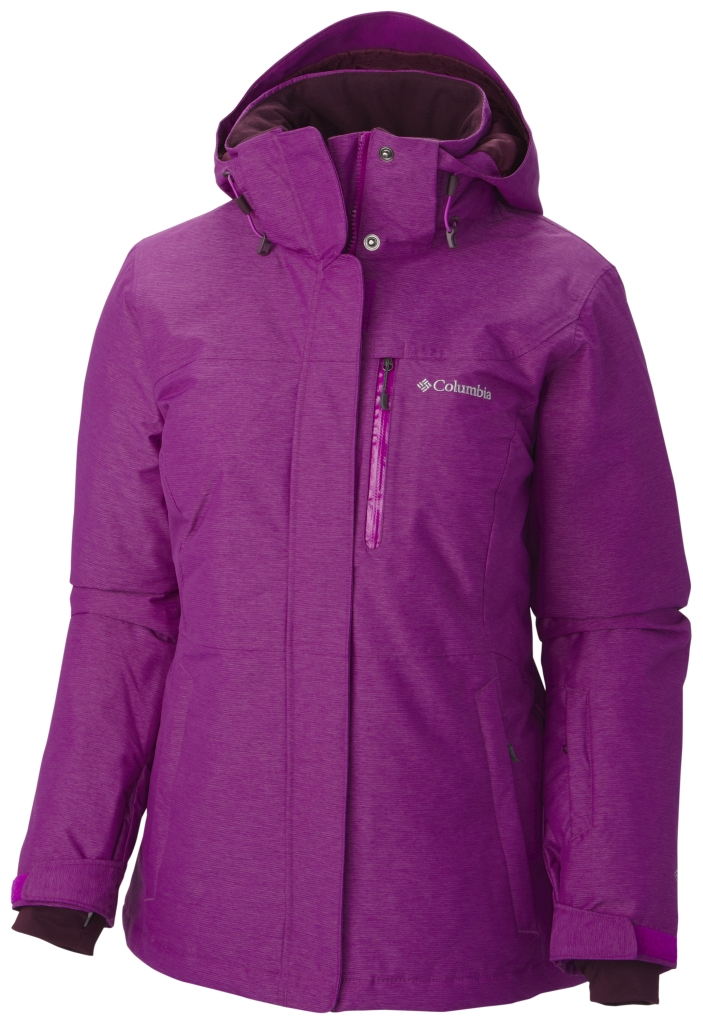 Columbia Women's Alpine Action Omni-Heat Jacket Bright Plum-30