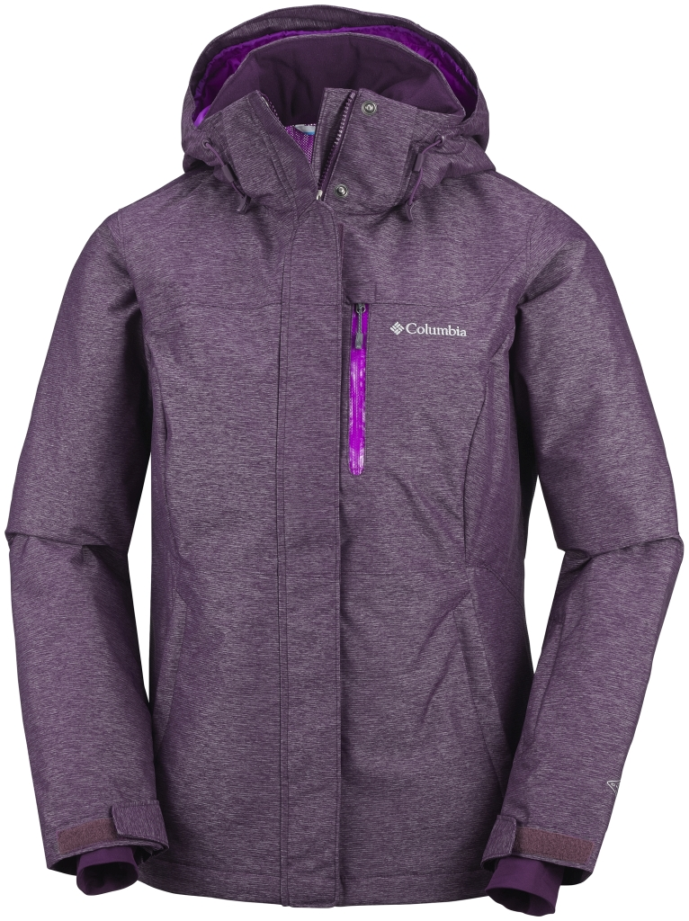 Columbia Women's Alpine Action Omni-Heat Jacket Purple Dahlia-30