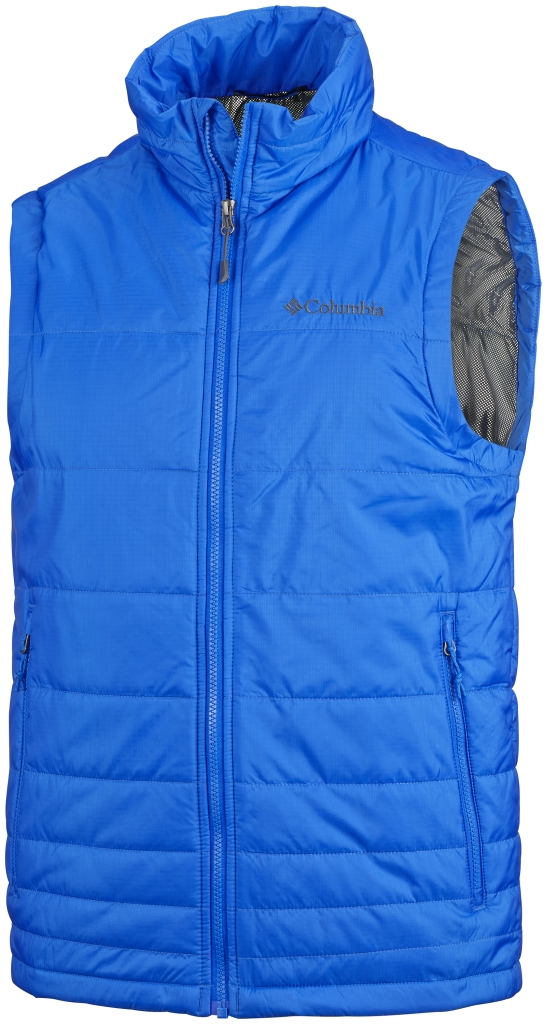 Columbia Men's Go To Vest Hyper Blue-30