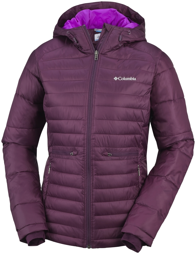 Columbia - Women´s Powder Pillow Jacket Purple Dahlia - Down Jackets - S