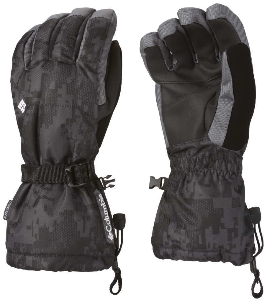 Columbia Men's Whirlibird Ski Glove Black Camo-30