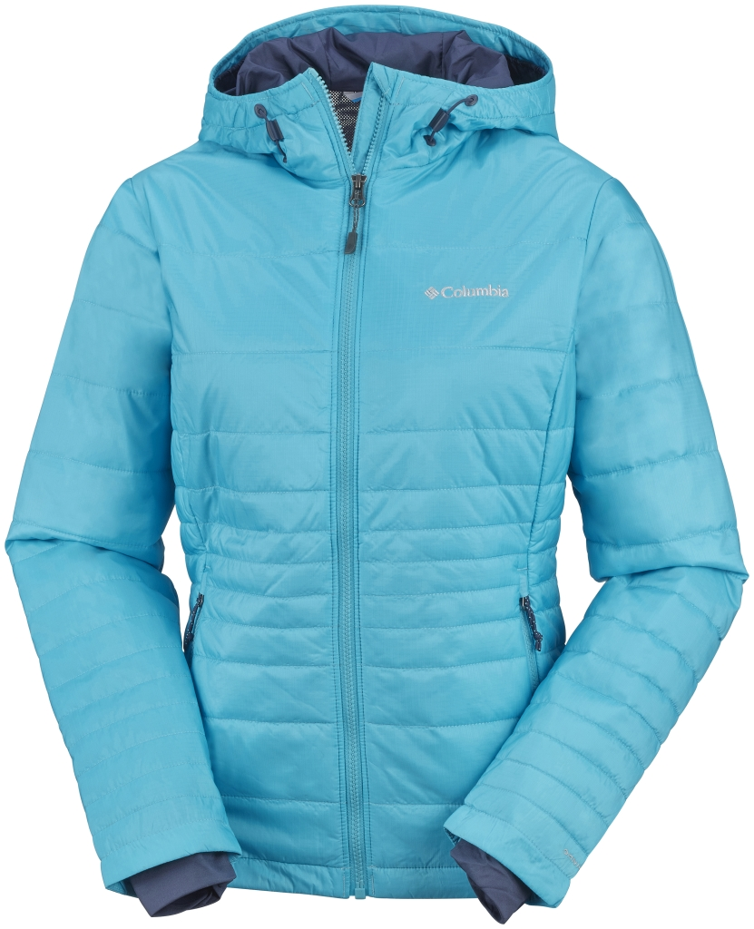 Columbia Women's Go To Hooded Jacket Atoll-30