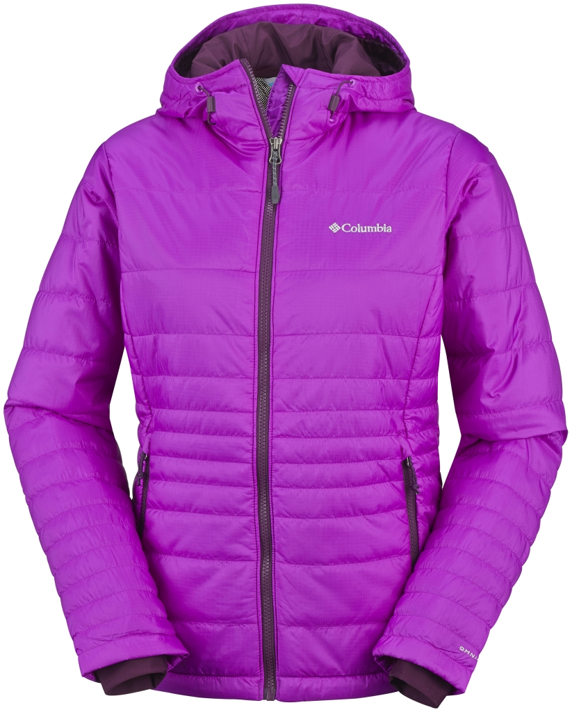 Columbia Women's Go To Hooded Jacket Bright Plum Purple Dahlia-30