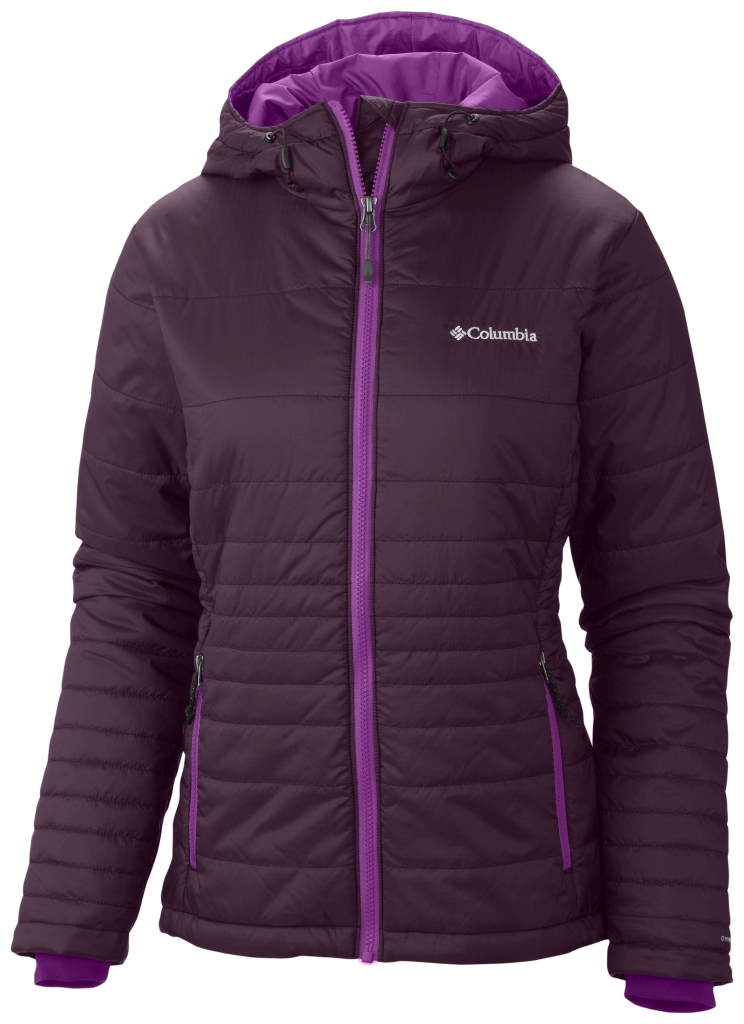 Columbia Women's Go To Hooded Jacket Purple Dahlia Bright Plum-30
