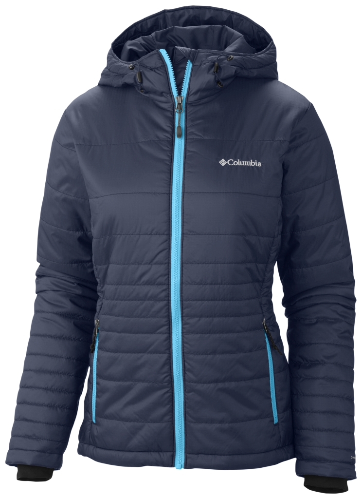Columbia Women's Go To Hooded Jacket Nocturnal Atoll-30