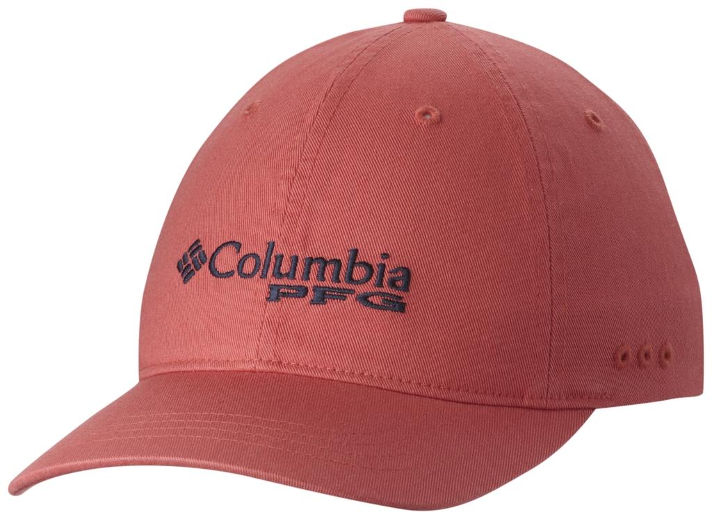 Columbia Pfg Bonehead Ballcap Sunset Red, Collegiate Navy-30
