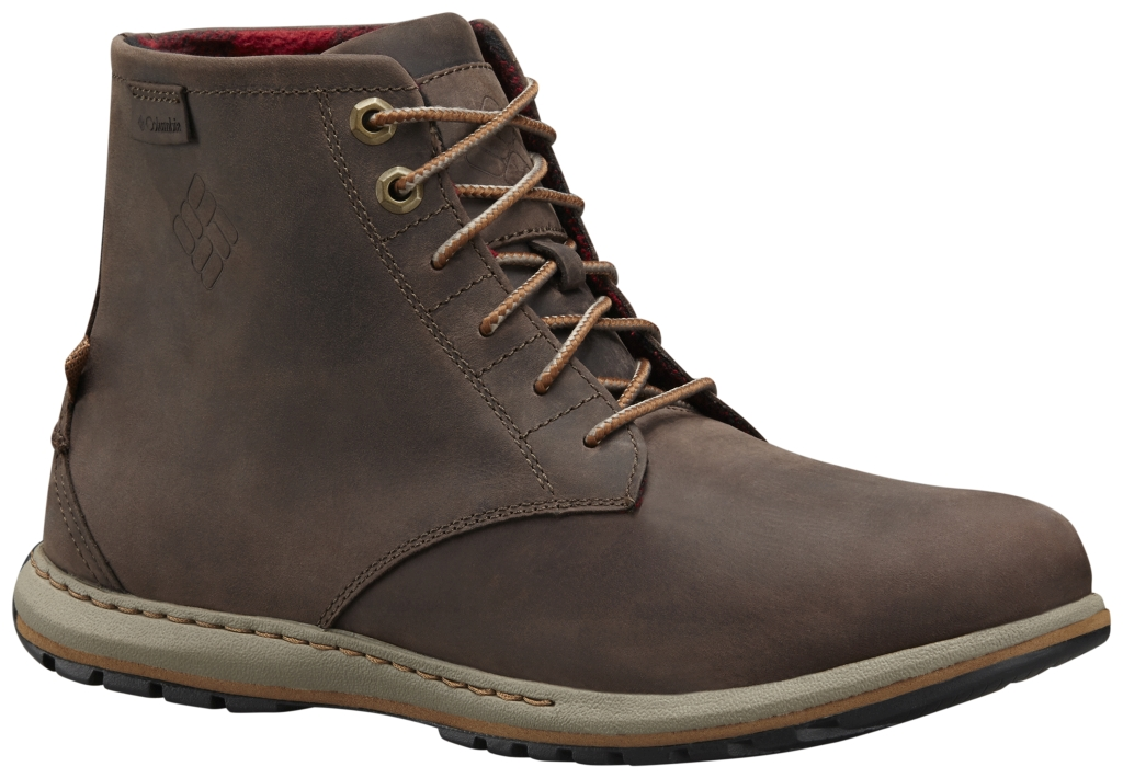 Columbia Men's Davenport Six Leather Boot Cordovan Grizzly Bear-30