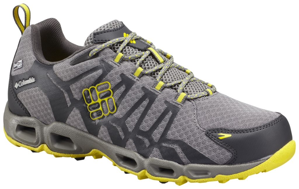 Columbia Wasserdichter Ventralia Outdry Trail Schuh Für Herren Light Grey Laser Lemon-30