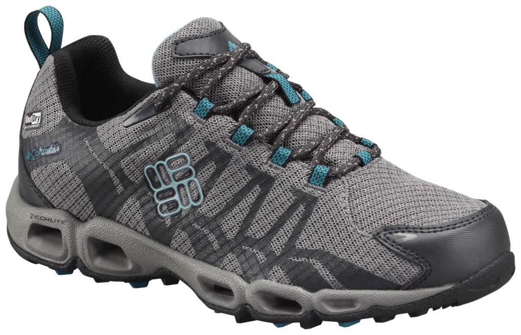 Columbia Women´s Ventrailia Outdry Trail Shoe Quarry Aqua-30