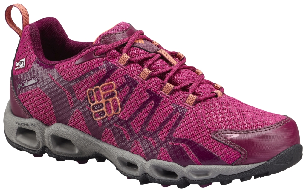 Columbia Women´s Ventrailia Outdry Trail Shoe Deep Blush Coral Flame-30