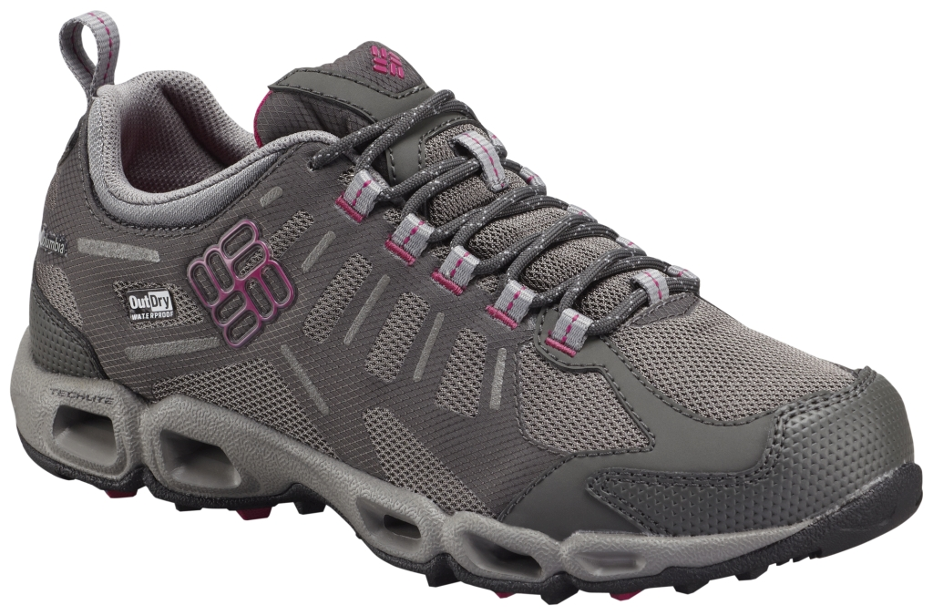 Columbia Women's Ventfreak Outdry® Multi-Sport Shoe Grill Deep Blush-30