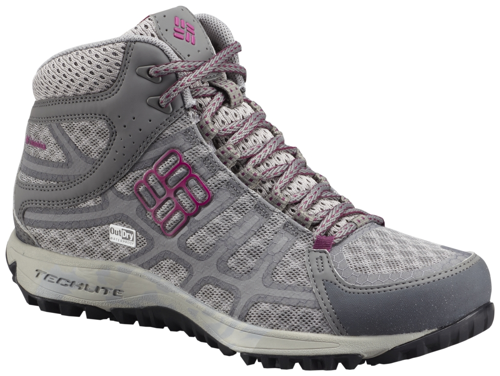 Columbia Women's Conspiracy III Mid Outdry Light Grey Deep Blush-30
