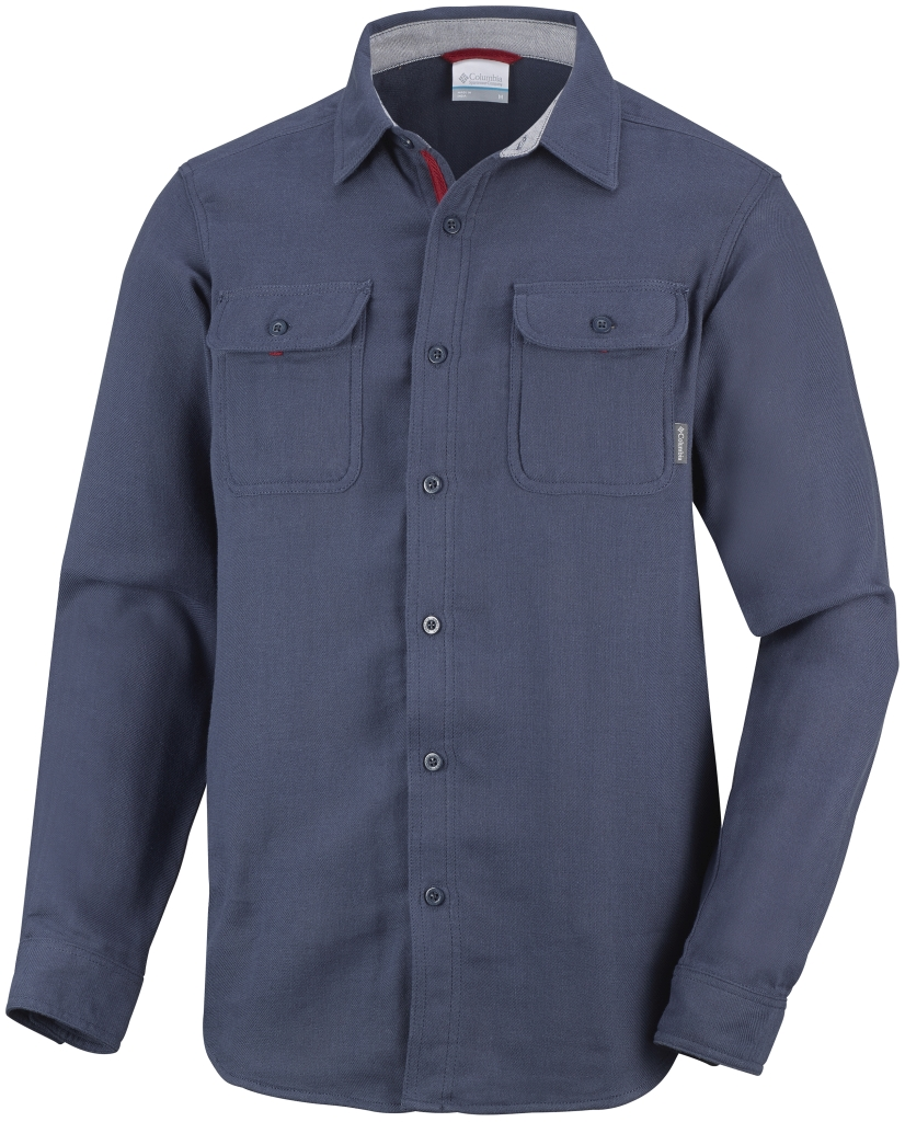 Columbia Men´s Falldale Double Cloth Long Sleeve Shirt Nocturnal-30
