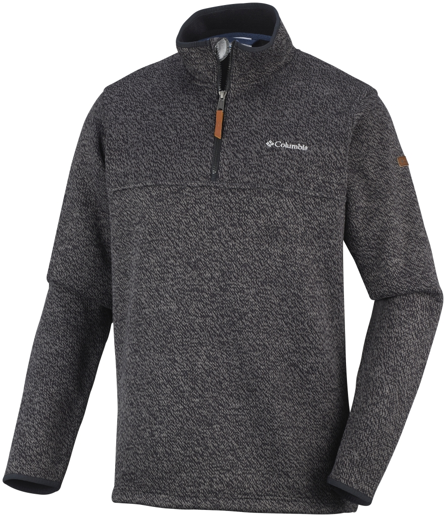 Columbia Men's Canyons Bend Half Zip Fleece Black-30