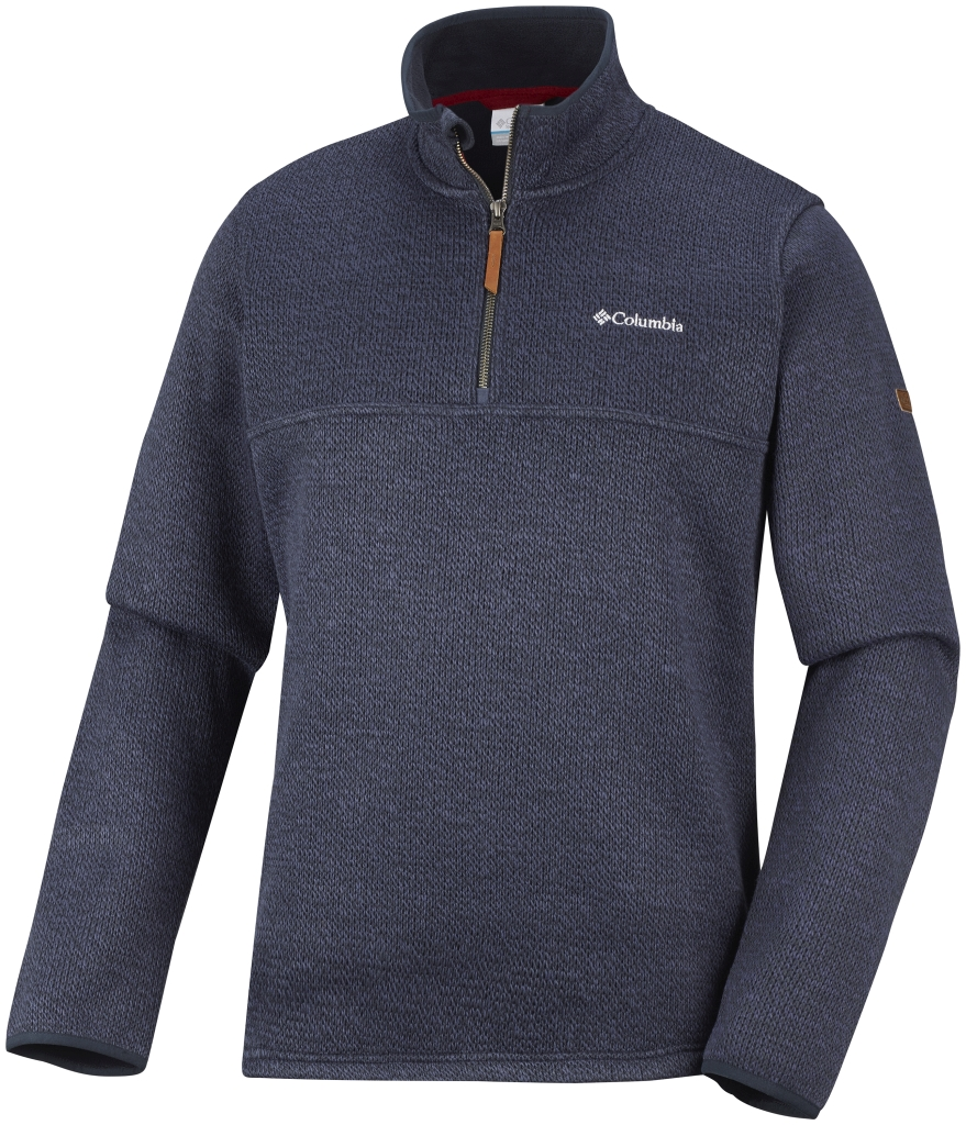 Columbia Men's Canyons Bend Half Zip Fleece Nocturnal-30