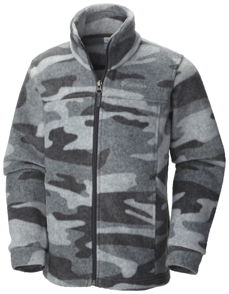 Columbia Boy´s Zing III Fleece Graphite Tweed Camo-30