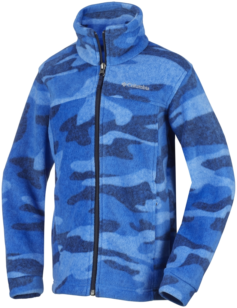 Columbia Boy´s Zing III Fleece Hyper Blue Tweed Camo-30