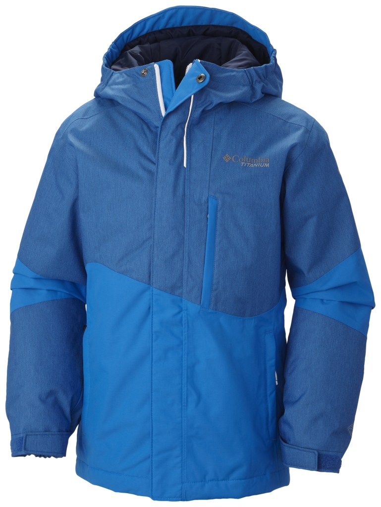 Columbia Boy's Shreddin' Jacket Hyper Blue-30