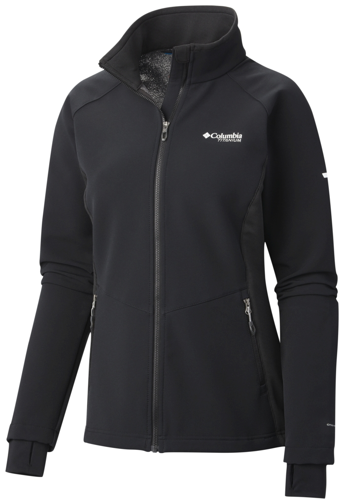 Columbia Women's Titan Ridge Hybrid Jacket Black-30