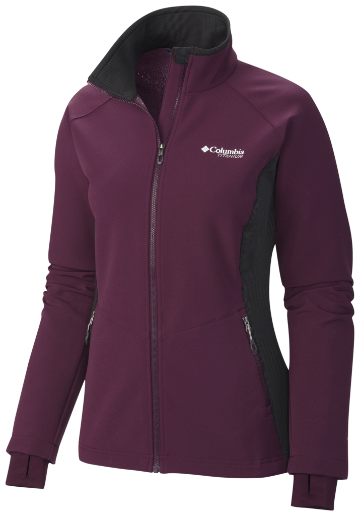Columbia Women'S Titan Ridge Hybrid Jacket Purple Dahlia-30