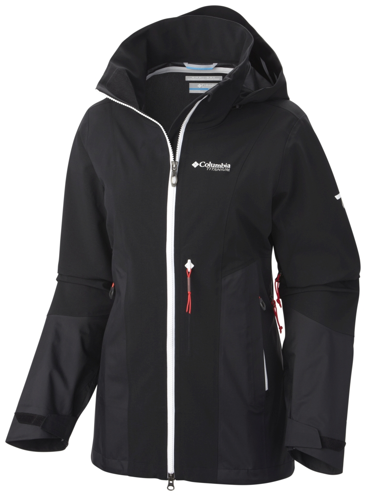 Columbia Women's A-Basin Ripper Jacket Black-30