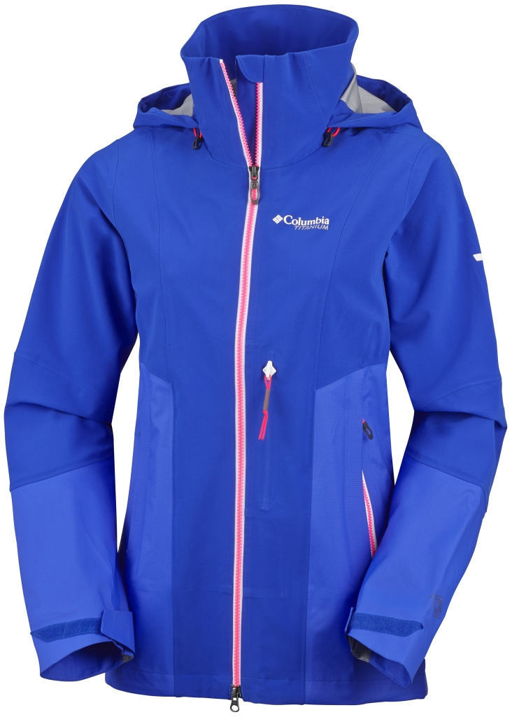 Columbia Women's A-Basin Ripper Jacket Blue Macaw-30