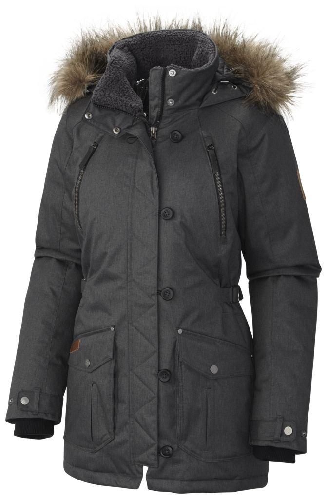 Columbia Women's Barlow Pass 550 Turbodown Jacket Black-30