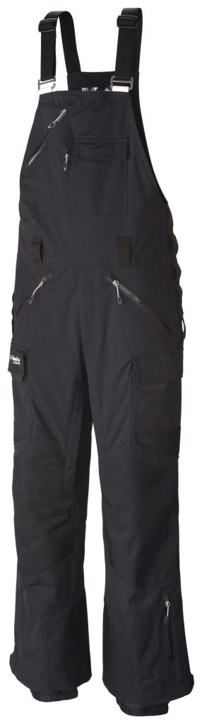 Columbia Men's Avalanche Bomb Bib Pant Black-30