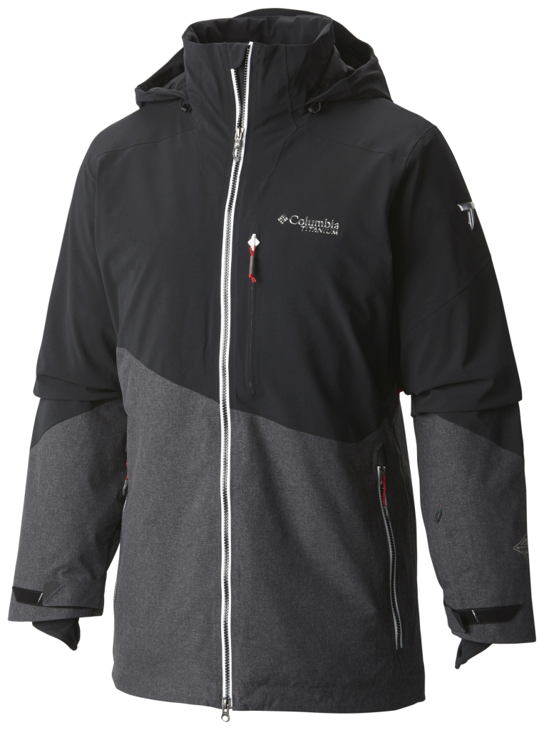 Columbia Men's Shreddin' Jacket Black-30