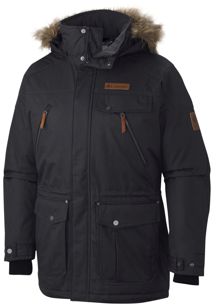 Columbia Barlow Pass 550 Turbodown Herrenjacke Black-30
