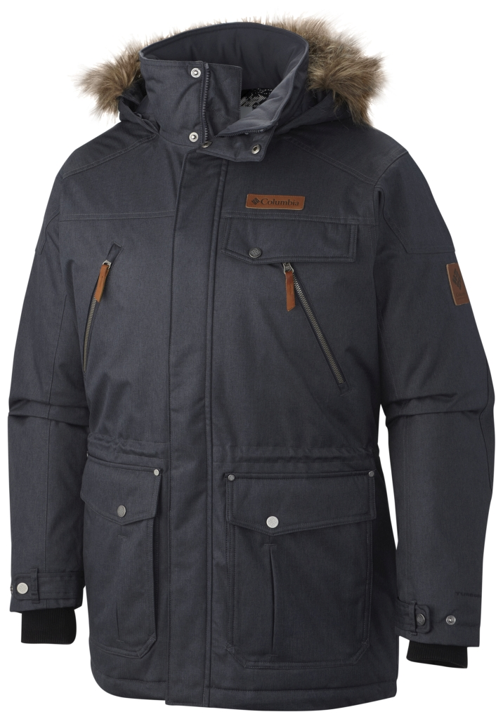 Columbia Men's Barlow Pass 550 Turbodown Jacket India Ink-30