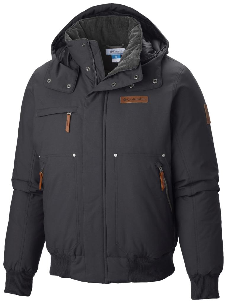 Columbia Men´s Downward Dash Bomber Down Jacket Black-30