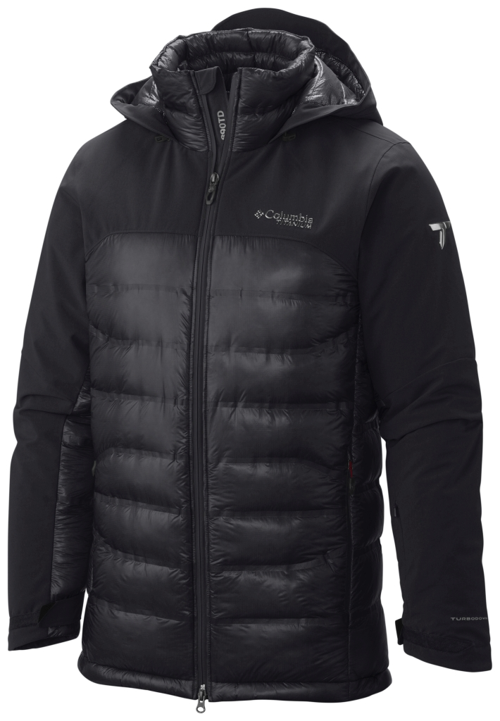 Columbia Men's Heatzone 1000 Turbodown Hooded Jacket Black-30